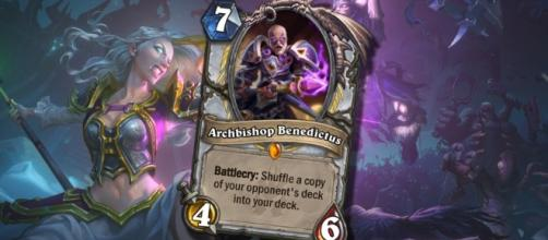 Hearthstone - The Incredible New Thief Priest Legendary | Legend Stuff/YouTube