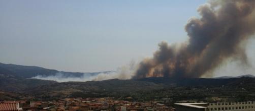 Incendio ad Arbus (photo credit: sardiniapost.it)
