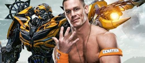 John Cena to star in Bumblebee/ photo by @ComicBookNOW via Twitter