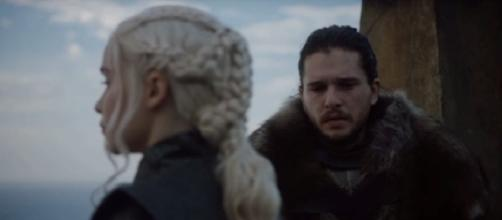 Jon Snow and Daenerys Targaryen/ Photo: screenshot via YouTube