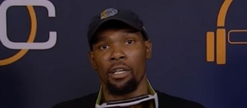 Kevin Durant led the Warriors to the NBA title against LeBron James and the Cavs -- Sports Warehouse via YouTube