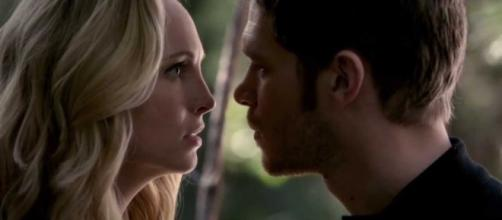 Klaus and Caroline are expected to reunite sooner than expected. source: screengrab from July Girl/youtube
