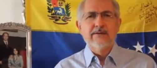 Leopoldo López and Antonio Ledezma were both already under house arrest/ Photo via YouTube/ Venezuela Digital