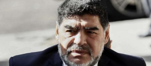 Maradona ha puesto un mensaje de apoyo a Nicolás Maduro.