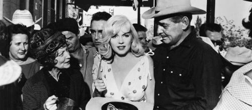 Marilyn Monroe en mayo de 1961