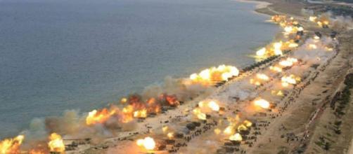 Nord Corea, parata per gli 85 anni delle forze armate: sparati 400 ... - corriere.it