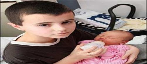 O britânico Sean Stewart foi pai com apenas 11 anos de idade