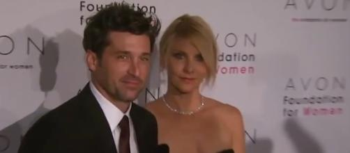 Patrick Dempsey celebrates 18th wedding anniversary with wife Jillian. Image via YouTube/ET
