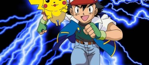 Photo of Ash and Pikachu headed for adventure from Flickr.