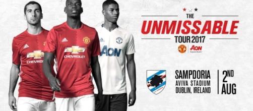 Sampdoria-Manchester United: tutti i modi per seguire la diretta dell'amichevole