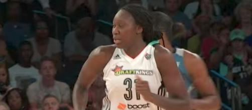 Tina Charles and the Liberty look to win their third-straight when they meet San Antonio on Tuesday night. [Image via WNBA/YouTube]