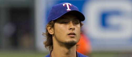 Yu Darvish is 6-9 with a 4.01 ERA with the Rangers this season -- Keith Allison via WikiCommons