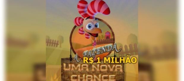 'A Fazenda 9 - Uma Nova Chance' irá pagar apenas R$ 1 milhão ao vencedor (Foto: Reprodução/ Montagem)