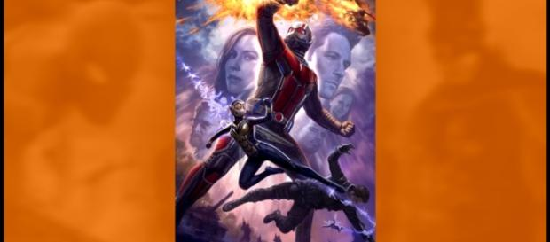 Ant-Man and The Wasp Official Poster Revealed - YouTube/ComicBookCast2