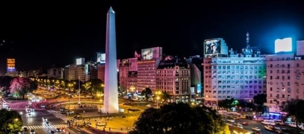 Noite em Buenos Aires, capital argentina