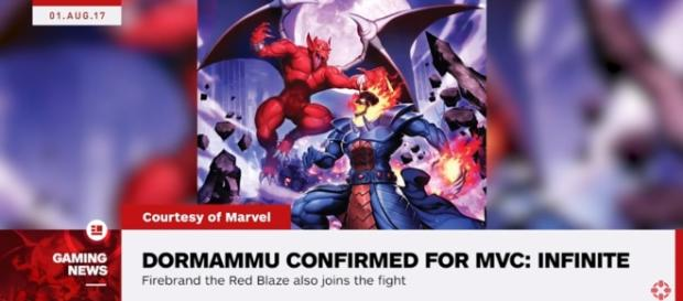 Dormammu and Firebrand Join Marvel vs. Capcom: Infinite - IGN News - YouTube/IGN News