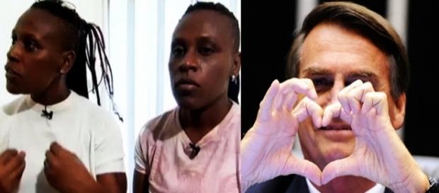 Dupla lésbica, Pepê e Neném, afirmaram que são a favor de Bolsonaro