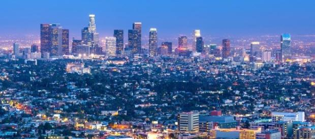 Los Angeles to host 2028 Summer Olympics; Paris wins 2024 Games. / from ' [Image source: Youtube Screen grab]