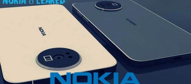 Leaked images of Nokia 8. [Image via Flickr]