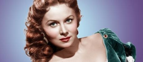 A atriz Rhonda Fleming, uma das rainhas do technicolor