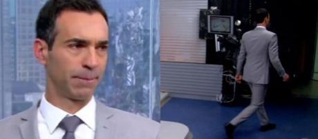 Cesar Tralli no SPTV (Reprodução/TV Globo)