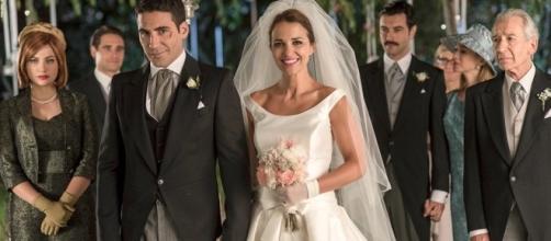 Alberto e Ana si sposano in Velvet4.