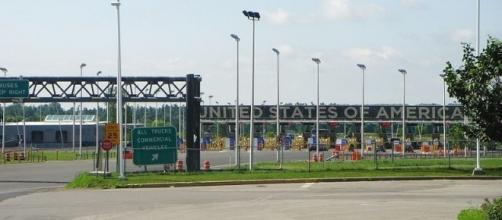 Blackpool Border Crossing between New York and Quebec (Credit – Atilin – wikimediacommons)