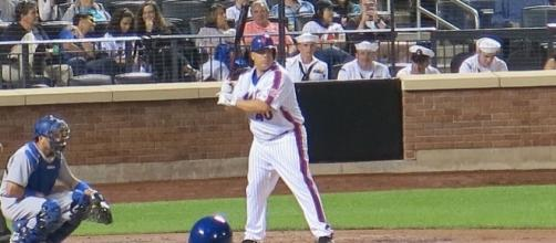 Colon in 2016, batting for the Mets, Wikipedia https://en.wikipedia.org/wiki/Bartolo_Col%C3%B3n#/media/File:Bart_batting.jpg