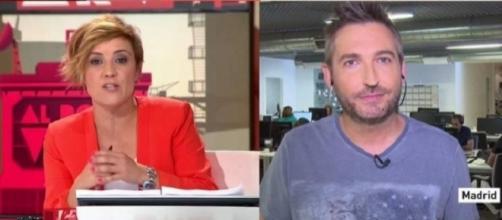 """Cristina Pardo y Frank Blanco en """"Al Rojo Vivo""""- La Sexta"""