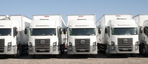 Frota da Luft Logistics, operadora logística com presença nacional e internacional.
