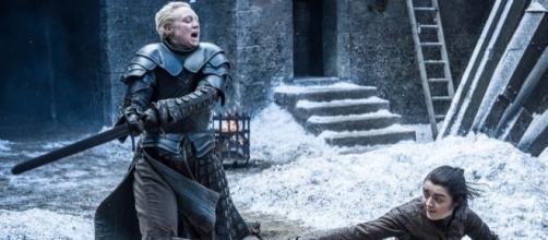Game of Thrones: L'étrange détail pendant le duel Arya / Brienne