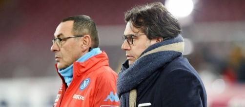 Il ds Cristiano Giuntoli è al lavoro per piazzare quattro giocatori in esubero che dovrebbero lasciare il Napoli -calciomercato24.com