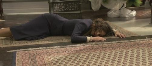 Il Segreto, anticipazioni: Camila cade dalle scale.