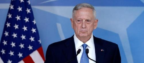 Jim Mattis secretario de defensa de los Estados Unidos