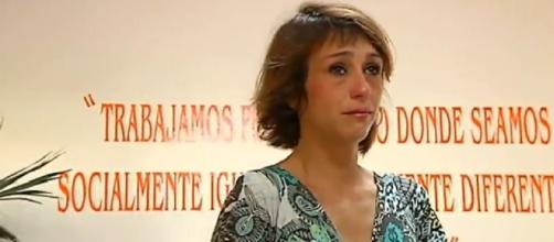 Juana Rivas en una de las comparecencias ante la prensa