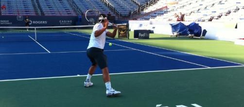 Leçon de tennis avec Rafael Nadal à Montréal