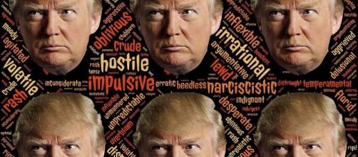 Many facets of Trump as seen by his critics.https://pixabay.com/en/trump-trumpism-candidate-narcissist-1779709/
