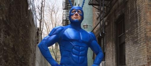 New Costume Design Revealed for Amazon Series THE TICK — GeekTyrant - geektyrant.com