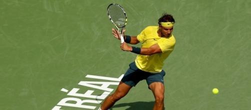 Rafael Nadal au tournoi de Montréal.