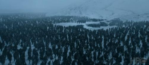 The White Walkers in Eastwatch (Source: GameofThrones via YouTube)