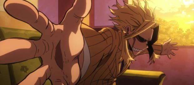 All Might is the Symbol of Peace. One For All is the Symbol of Evil. Credit. Bones