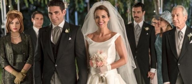 Ana e Alberto si sposano in Velvet.