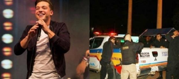 Bandidos tentam invadir show de Safadão