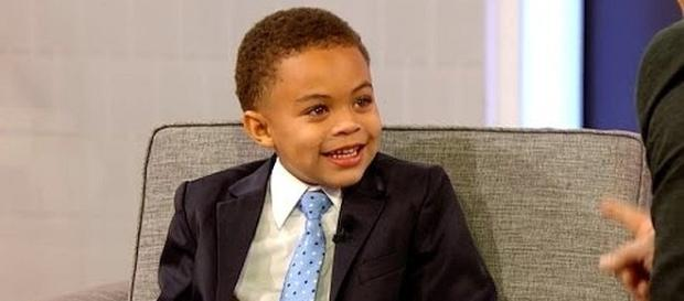 Caleb Serrano is a 5-year-old worship leader [Image: Harry/YouTube screenshot]