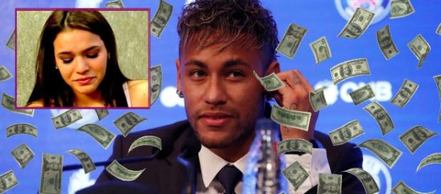 Neymar deixou o amor de Bruna Marquezine de lado para se tornar o jogador número 1