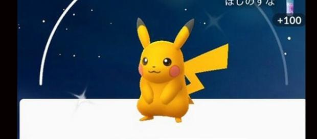 Shiny Pikachu/ phot by @TheSilphRoad via Twitter