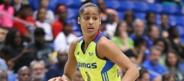 Skylar Diggins-Smith and the Dallas Wings look to win their third straight on Thursday when they host the Mercury. [Image by WNBA/YouTube]