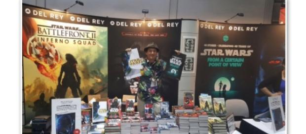 Star Wars Del Rey Booth via Twitter
