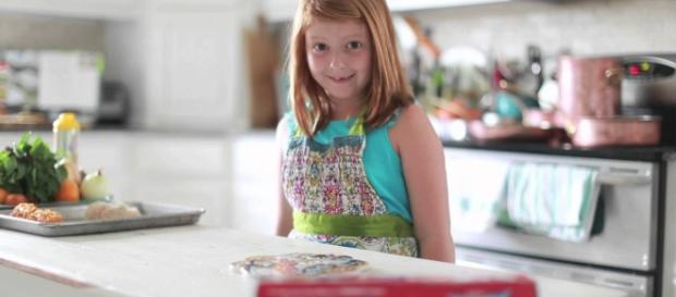 You can bond with your kids over some simple recipes. (image source: YouTube/Dale Benfield)