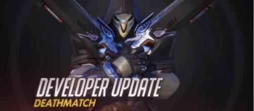 """Developer Update - screencap """"Overwatch"""" update."""